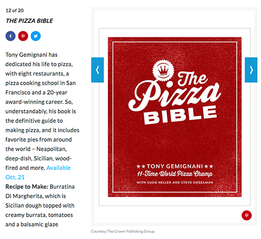 The 16 Cookbooks You Need This Fall: The Pizza Bible